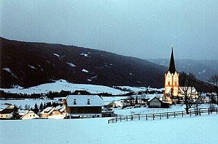 Mariapfarr im Salzburger Lungau, hier enstand der Text von Stille Nacht Heilige Nacht © Alexander Gautsch
