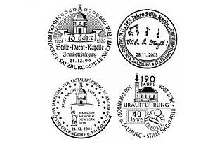 Sonderstempel des Stille Nacht Postamtes in Oberndorf bei Salzburg © Österreichische Post