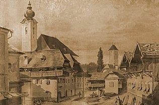 Oberndorf 1898 © Stille Nacht Museum Oberndorf