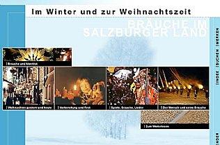 CD-ROM Bräuche im Salzburger Land. Im Winter und zur Weihnachtszeit. © Alexander Gautsch